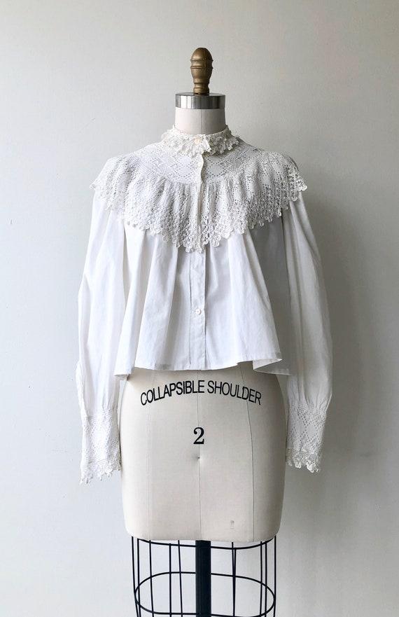 Tyndell cotton blouse | Victorian blouse | antiqu… - image 3