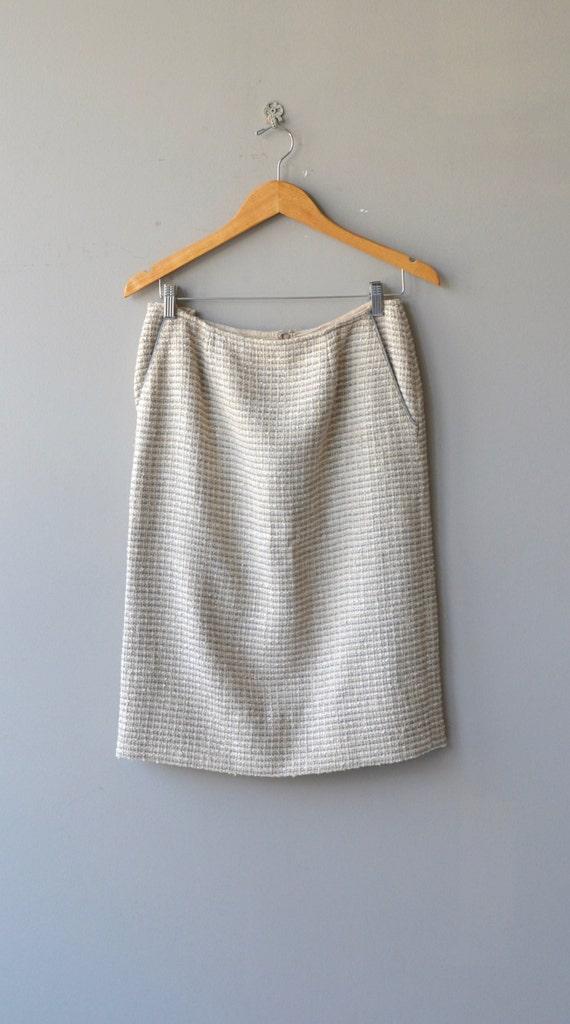 Chanel suit   vintage boucle jacket and skirt   v… - image 4