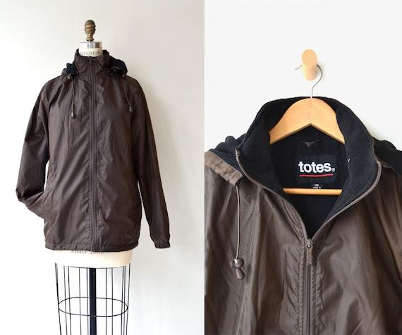 Totes parka | fleece lined coat | vintage 1980s ca