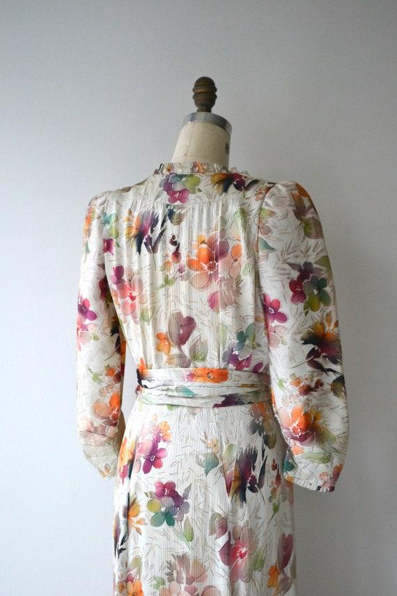 Lark House silk dress | vintage 1930s floral dres… - image 8