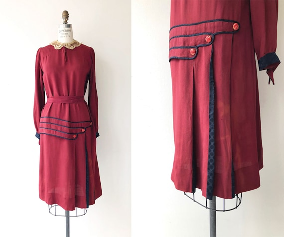 Radioland dress   1920s dress   silk 20s dress