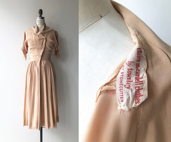 Claire McCardell dress | vintage 1950s dress