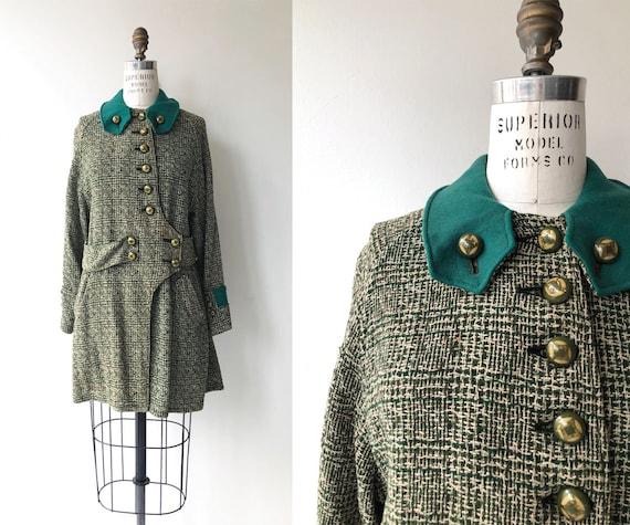 Glenveagh wool coat | 1920s coat | vintage 20s coa
