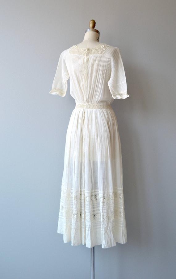 Mirfield Villa dress | 1910s cotton dress | antiq… - image 7