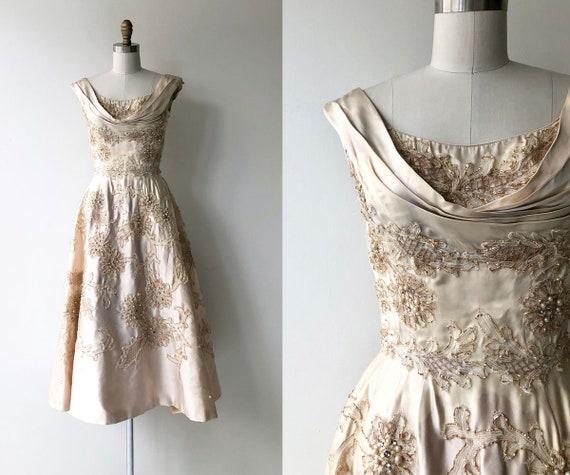 Ceil Chapman dress | 1950s designer dress | 50s p… - image 1