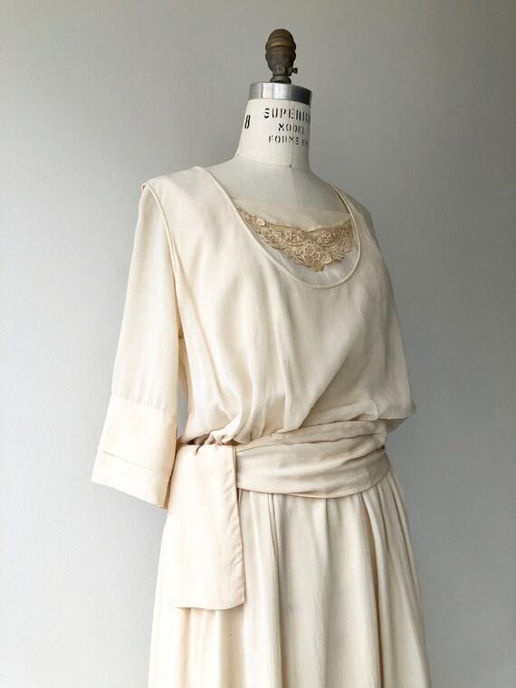 Elaria silk dress | 1920s wedding dress | antique… - image 5