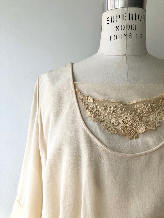 Elaria silk dress | 1920s wedding dress | antique… - image 4