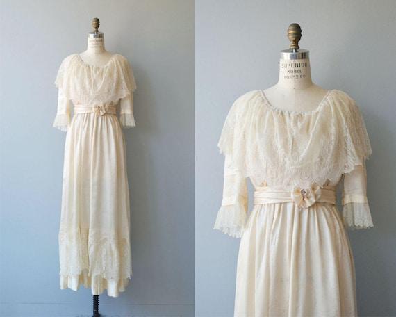 Nuptials 1916 wedding gown | antique Edwardian wed