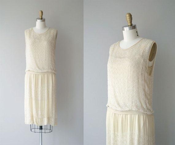 Parlour Match dress | vintage 1920s dress | beaded