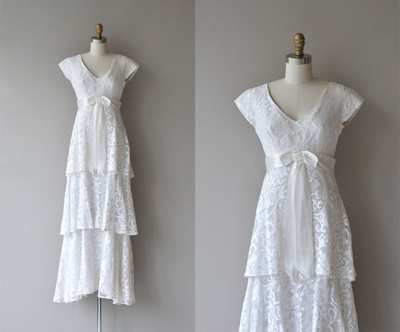 Fouetté wedding dress | vintage 70s wedding dress