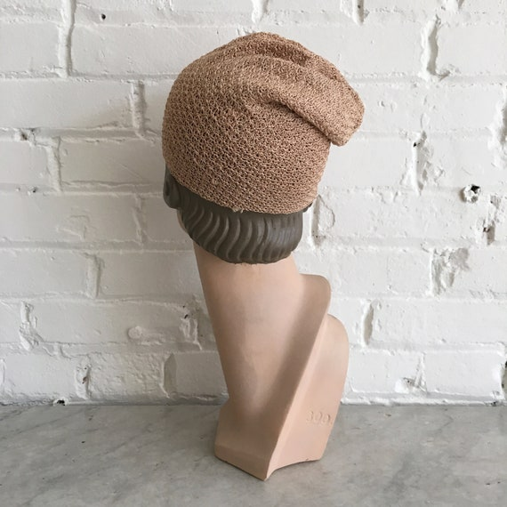 Rare 1920s knit cloche | antique 20s knit hat | s… - image 4