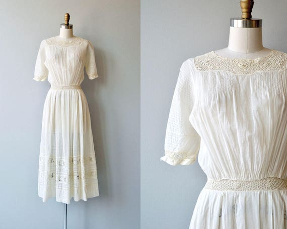 Mirfield Villa dress | 1910s cotton dress | antiqu