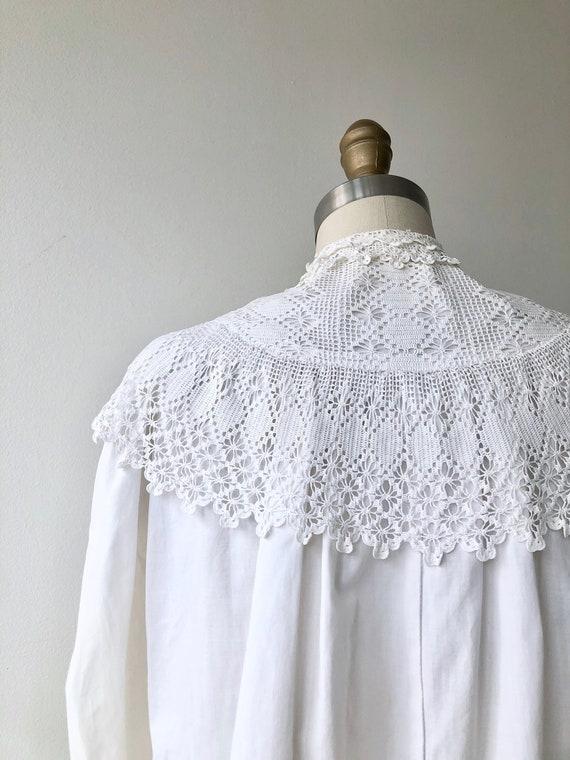 Tyndell cotton blouse | Victorian blouse | antiqu… - image 9
