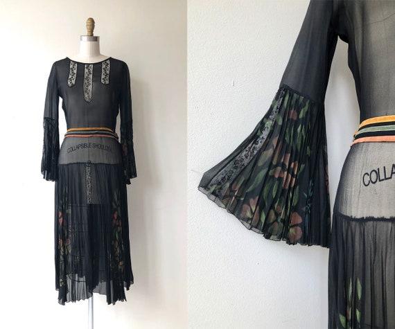 Anais dress | 1920s dress | black 20s dress