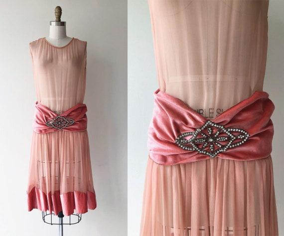 Paris Match dress | 1920s silk dress | 20s flapper