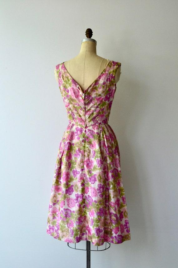 Melina floral dress | 1950s dress | floral 50s dr… - image 5