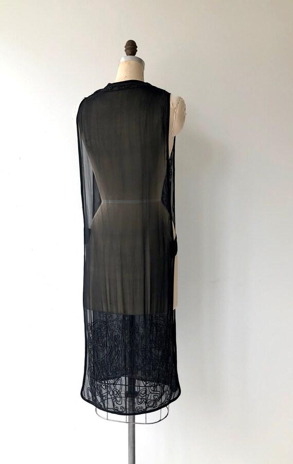 Revival beaded silk tabard | 1920s beaded dress |… - image 8