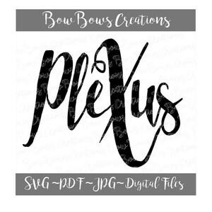Y/'all Need Plexus Digital Cut File  SVG Plexus Vinyl Car Window Sticker  Decal   Monogram Tag  Laptop Decal  Iphone Label