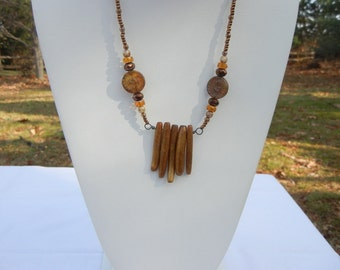 Trapeze Style Necklace