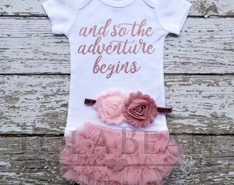 cabb2d9a2 Baby girl coming home outfit