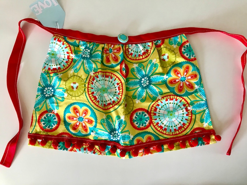 Kids Aprons Toddler Apron Apron for Kids Mommy's little image 0