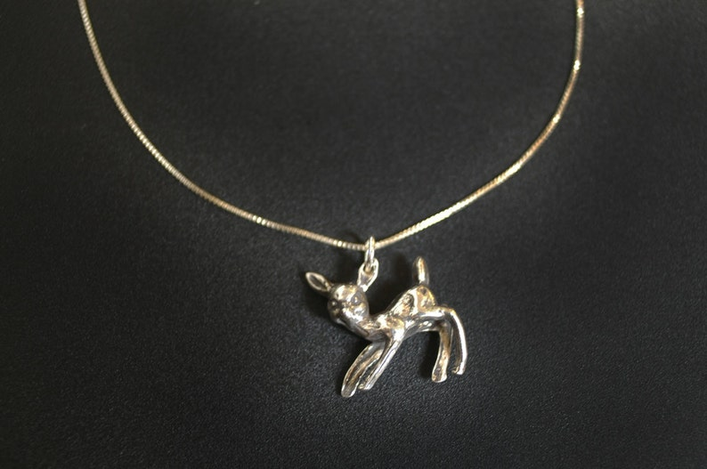 Cute Deer Necklace image 0