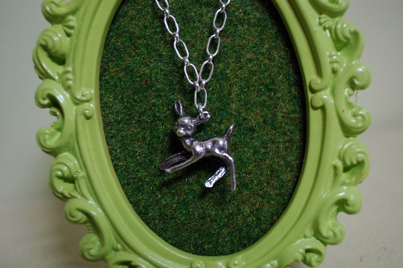 A deer necklace for your sweet lil dear... Children's image 0