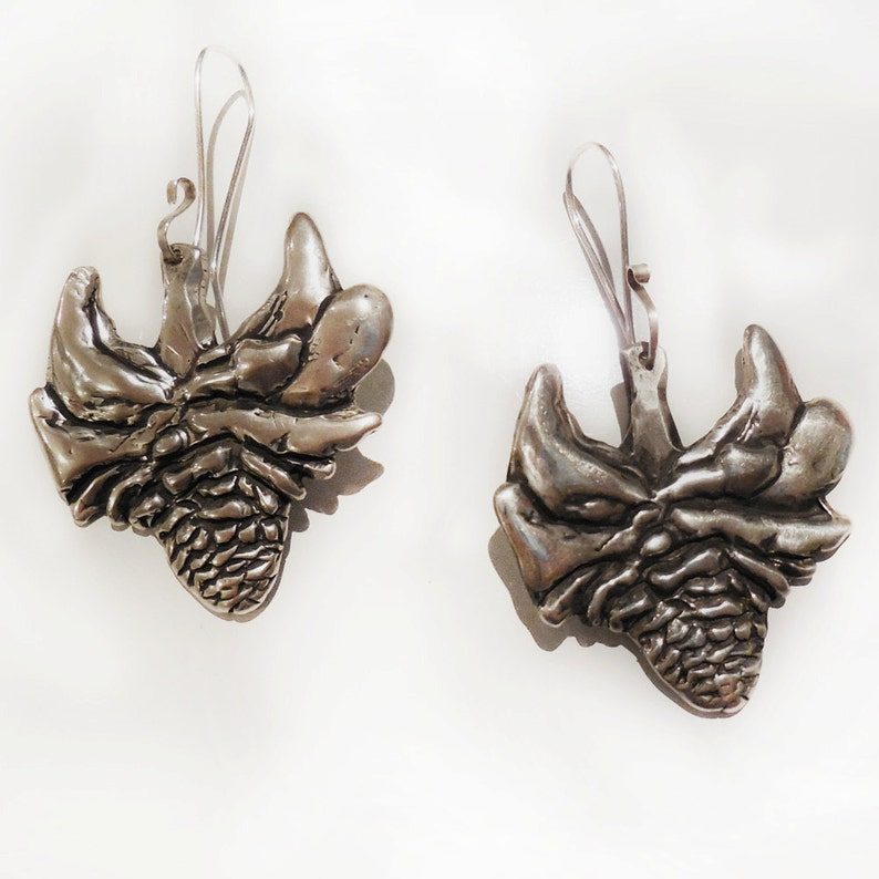 Torch Ginger Sterling Silver Earrings image 0