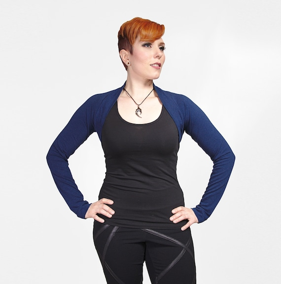Yoga Shrug Eco Friendly Wrap Top Organic Clothing 34 Sleeve for Women Several Colors