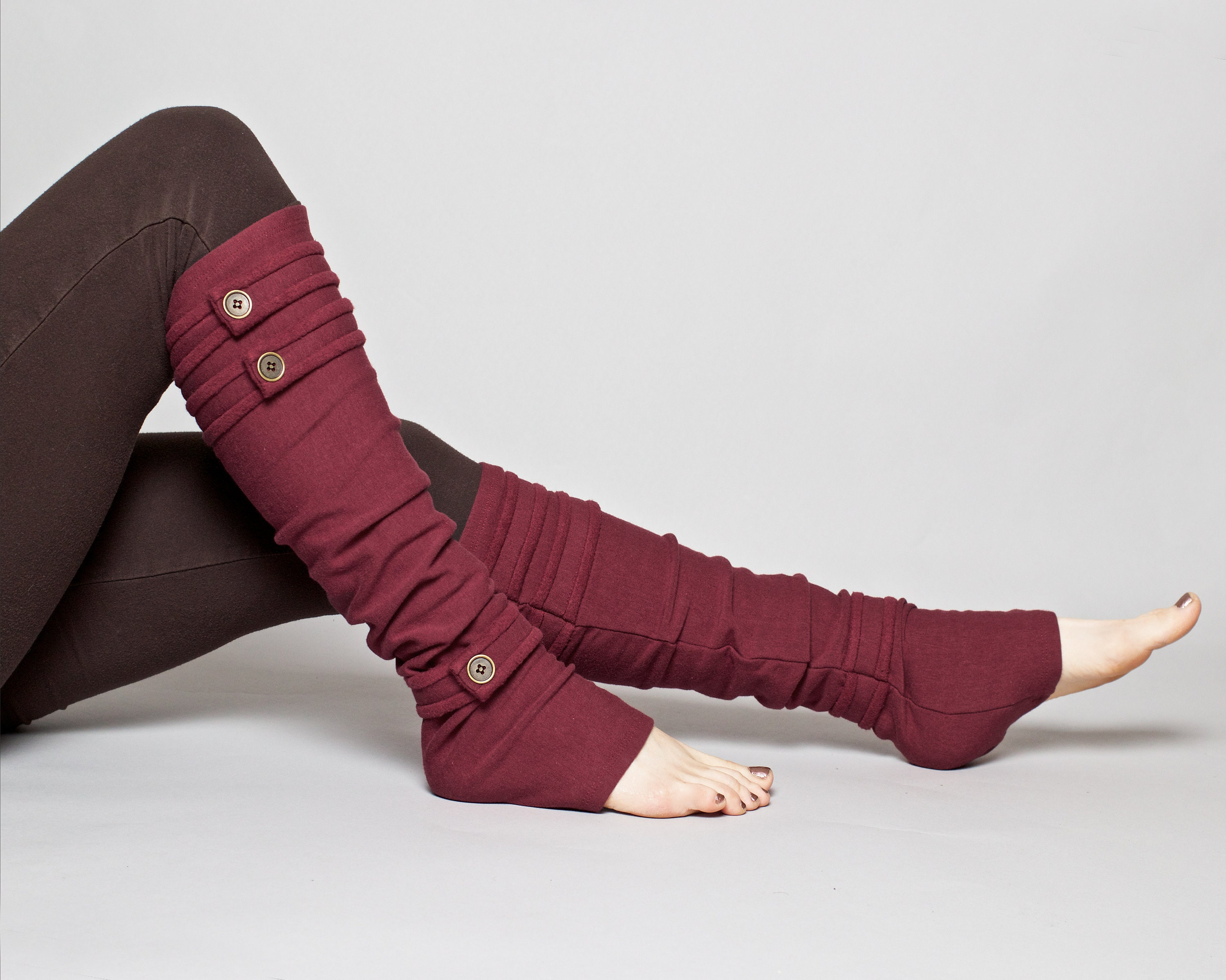 Spats, Gaiters, Puttees – Vintage Shoes Covers Womens Leg Warmers - Bamboo Fleece Made in The Usa $52.00 AT vintagedancer.com