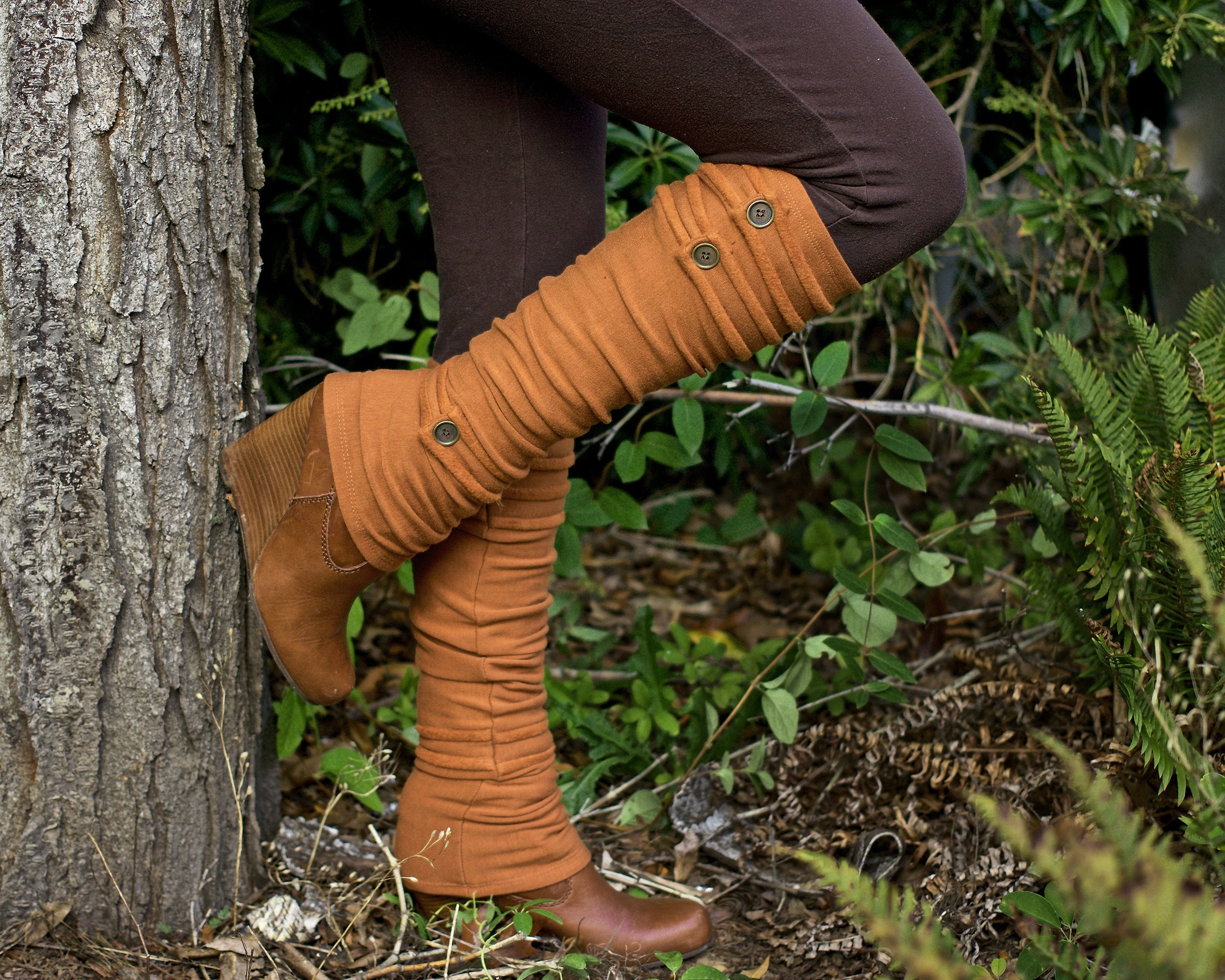 Spats, Gaiters, Puttees – Vintage Shoes Covers Womens Leg Warmers - Eco-Friendly Bamboo Fleece Made in The Usa $52.00 AT vintagedancer.com