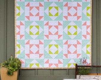 Cactus Garden Quilt Pattern