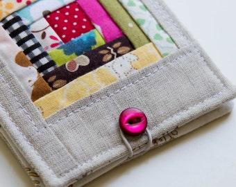 Log Cabin Needle Book Pattern   PDF Sewing Pattern