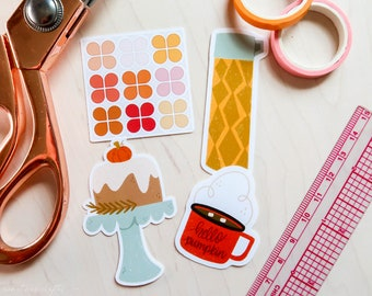 Autumn Vibes Glossy Sticker Pack   Sticker Pack 02