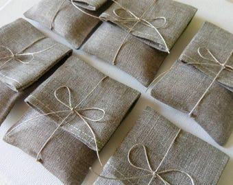 Jewelry, usb packaging natural linen pouches.Linen envelopes. Favor /gift/candy  bags. Wedding favors. Baby Shower Christening.Jewelry bags.
