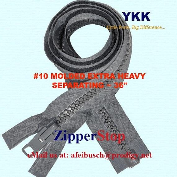 36 inch Olive Green Vislon #3 Separating Zipper New!