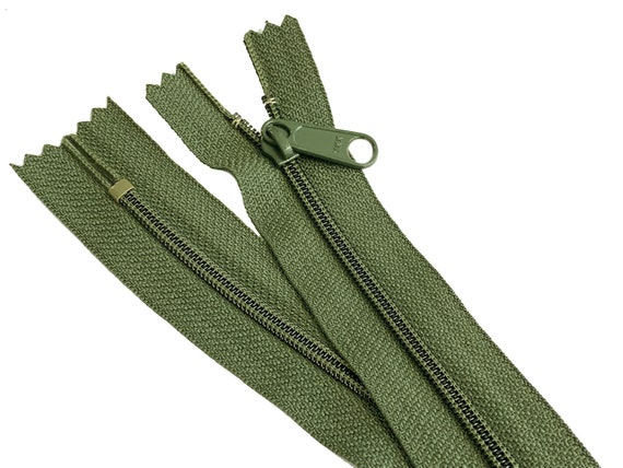 "5pcs 27/"" YKK  #4.5 Handbag or Purse Zipper With Extra-Long Pull Made In USA"