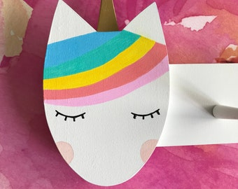Rainbow Unicorn Clothing Rack