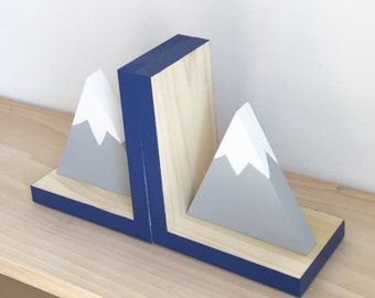 Mountain Bookends