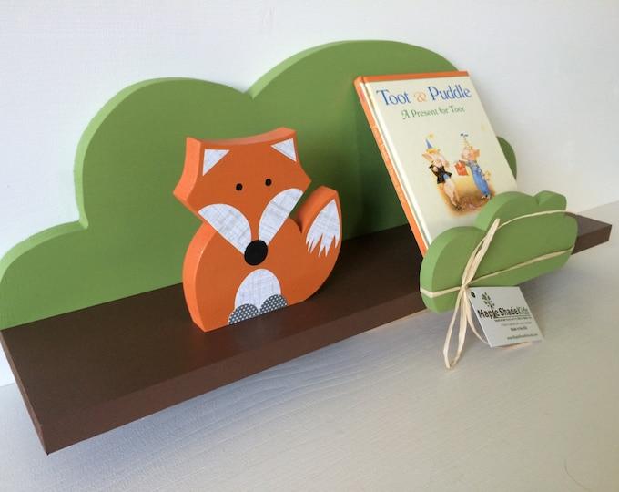 Featured listing image: Tree Shelf, Woodland Nursery, Forest Themed Kids Decor, Book Shelf, Forest Themed Nursery,  Kids Decor, eco friendly