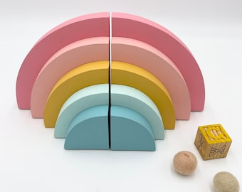 Rainbow Bookends,  Book organization for kids, Modern Rainbow, Colorful Girls Decoration, Rainbow Decor, Arch Bookends, Bright Rainbow