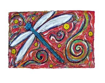 DragonFly matted to 11x14