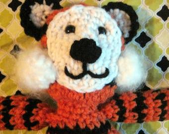 PDF Crochet Pattern Amigurumi Tiger