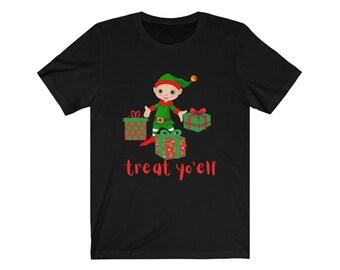 Treat Yo'elf Elf Unisex Jersey Short Sleeve Tee
