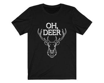 Oh Deer Unisex Jersey Short Sleeve Tee