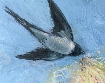 SALE, Bird art, Bird Singing print , Sale art, print sale, second sale