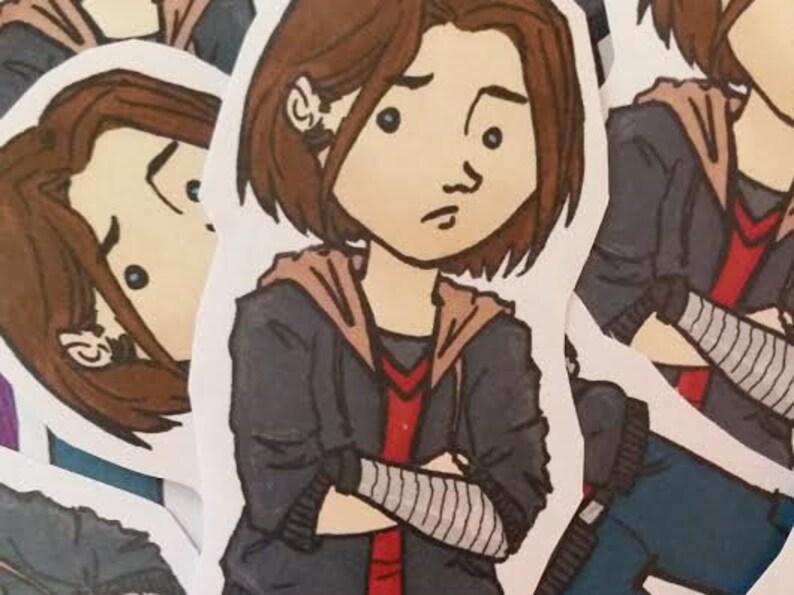 Bucky Barnes - Winter Soldier fanart sticker