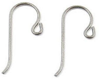 TierraCast Earwires-Grey Niobium With Small Loop (4)