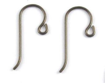 TierraCast Hypoallergenic Earwires-Bronze NIOBIUM with SMALL LOOP (4)