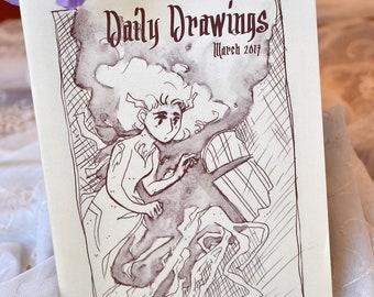 Daily Drawings Zine 2017
